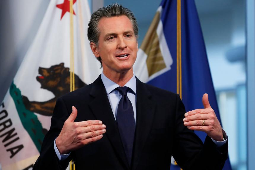 Photo of Governor Newsom