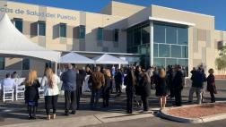 Members of El Centro's community attend the grand opening of El Centro Health Center.