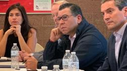 Eduardo Garcia and Wade Crowfoot listening to our AD56 community.